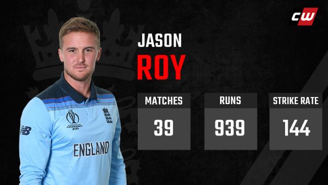 Jason Roy England India
