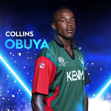 Collins Obuya Kenya T20I