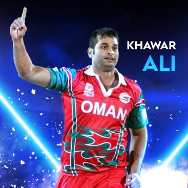 Khawar Ali Oman all-rounder T20I