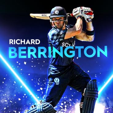 Richard Berrington Scotland all-rounder T20I