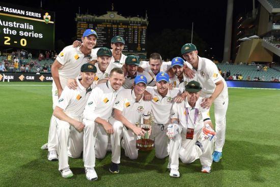 Team Australia Test