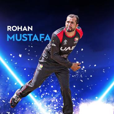 Rohan Mustafa UAE T20I