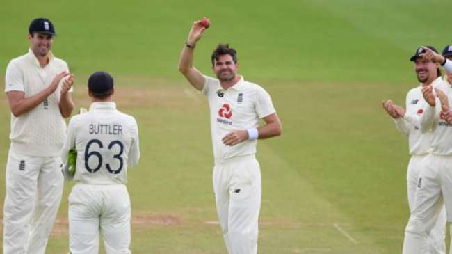 James Anderson Test England India