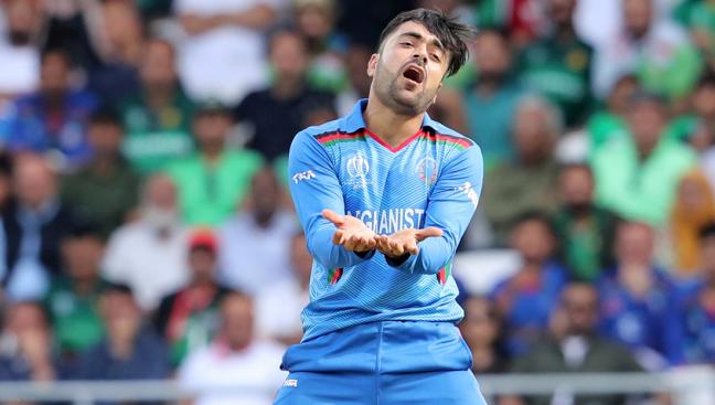 Rashid Khan Afghanistan bowlers